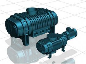 江西2ZJQ双级混合气冷罗茨真空泵